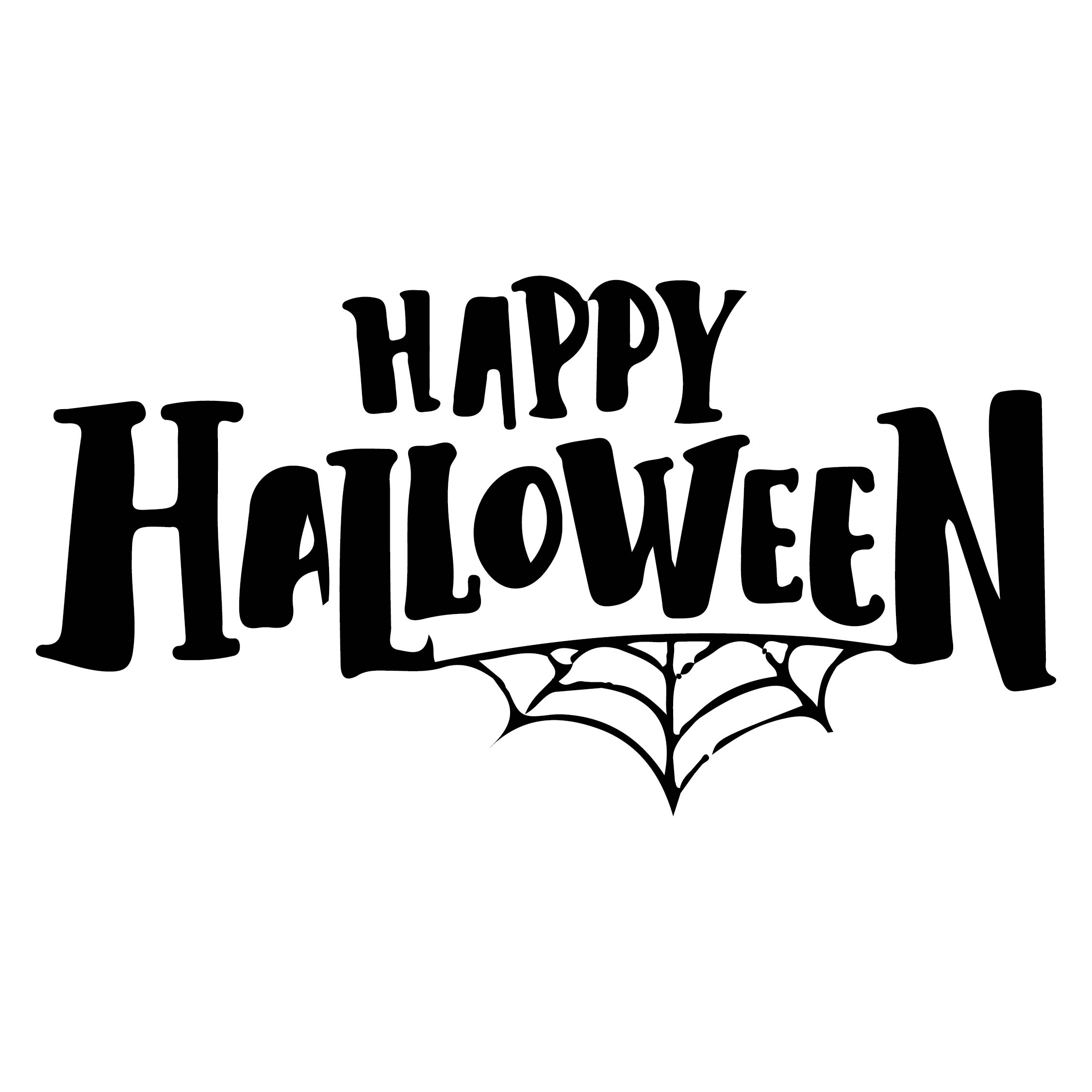 Halloween Printables-Happy