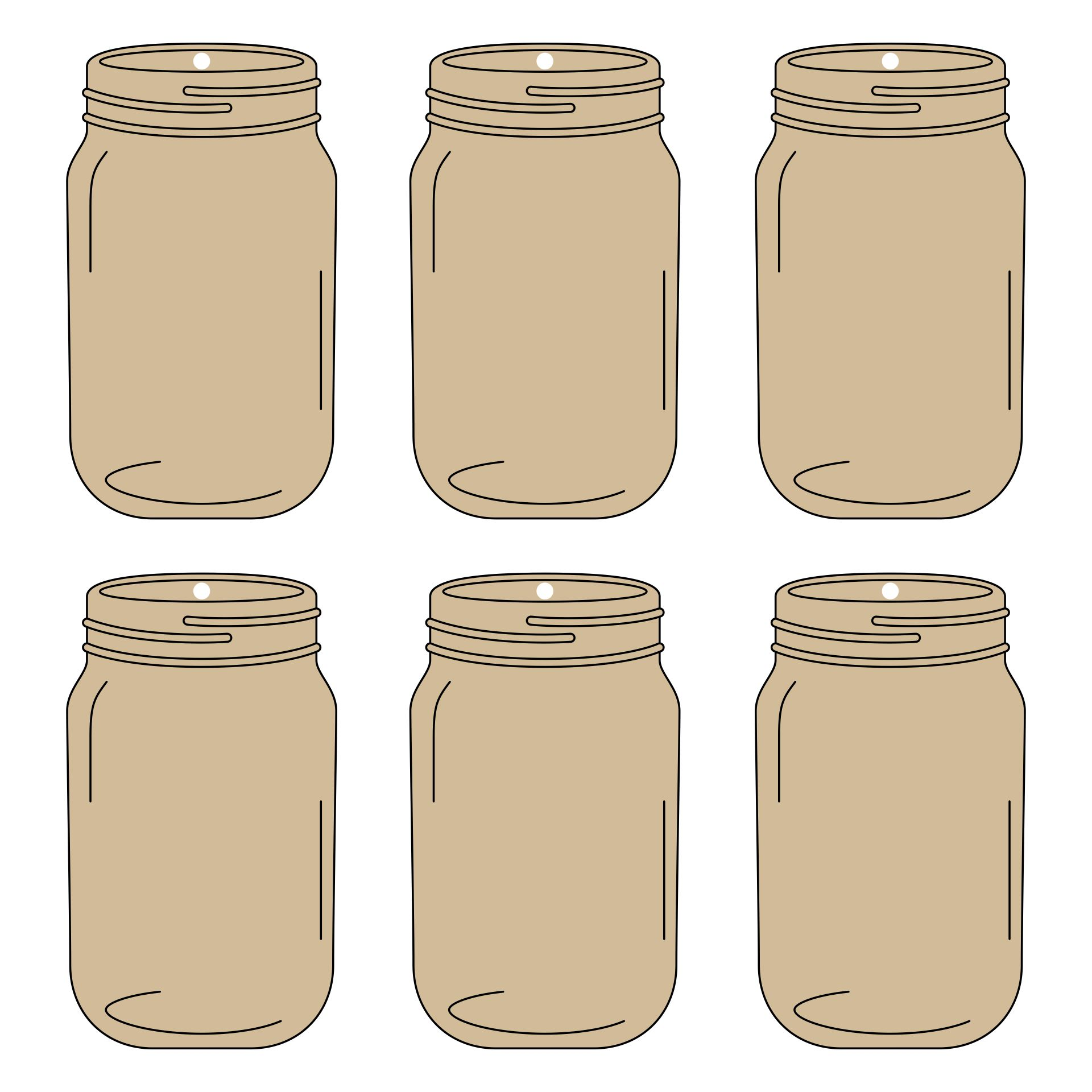 8 Images of Halloween Free Printable Canning Jar Label Templates