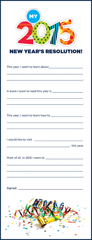 7 Images of Printable New Year S Resolution Worksheet