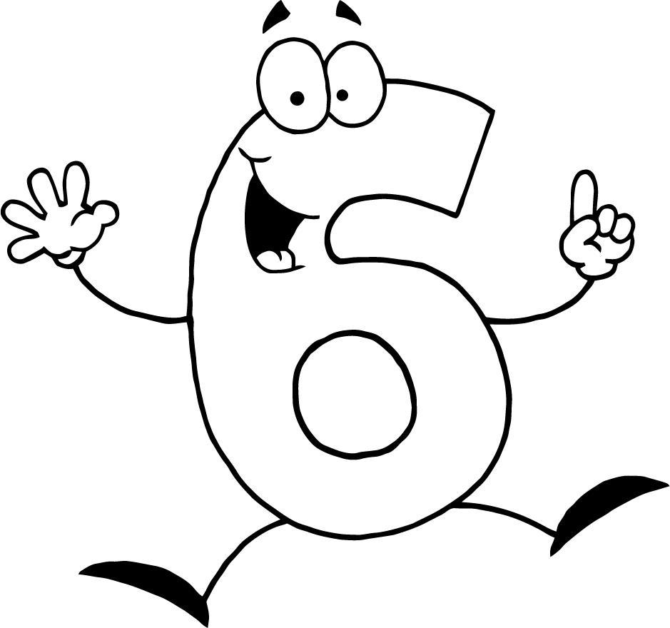 Best Printable Coloring Numbers Number