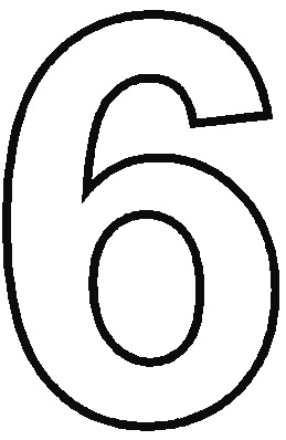 5 Best Images Of Printable Coloring Numbers 6