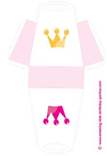 5 Images of Princess Party Favor Printables