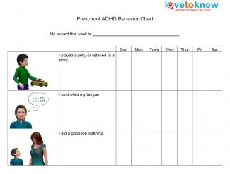Adhd Worksheets For Kids - Davezan