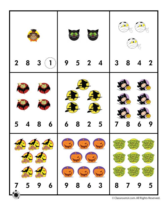 Printables Counting Worksheets For Preschool worksheets for preschoolers numbers intrepidpath 4 best images of block number preschool printables 2