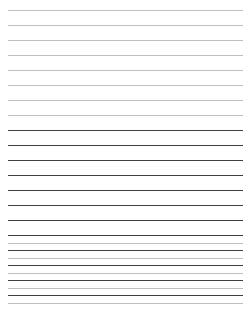 lined paper microsoft word template – Word Lined Paper Template