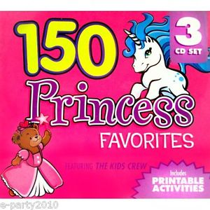 Printable Princess Birthday Party Games