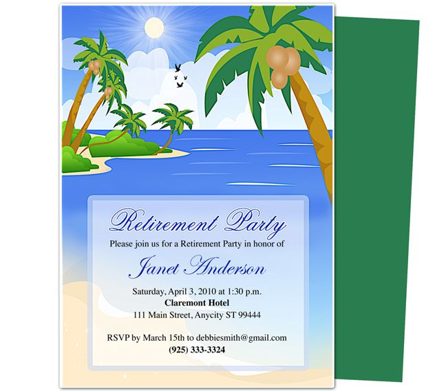 5 Images of Happy Retirement Free Printable Template