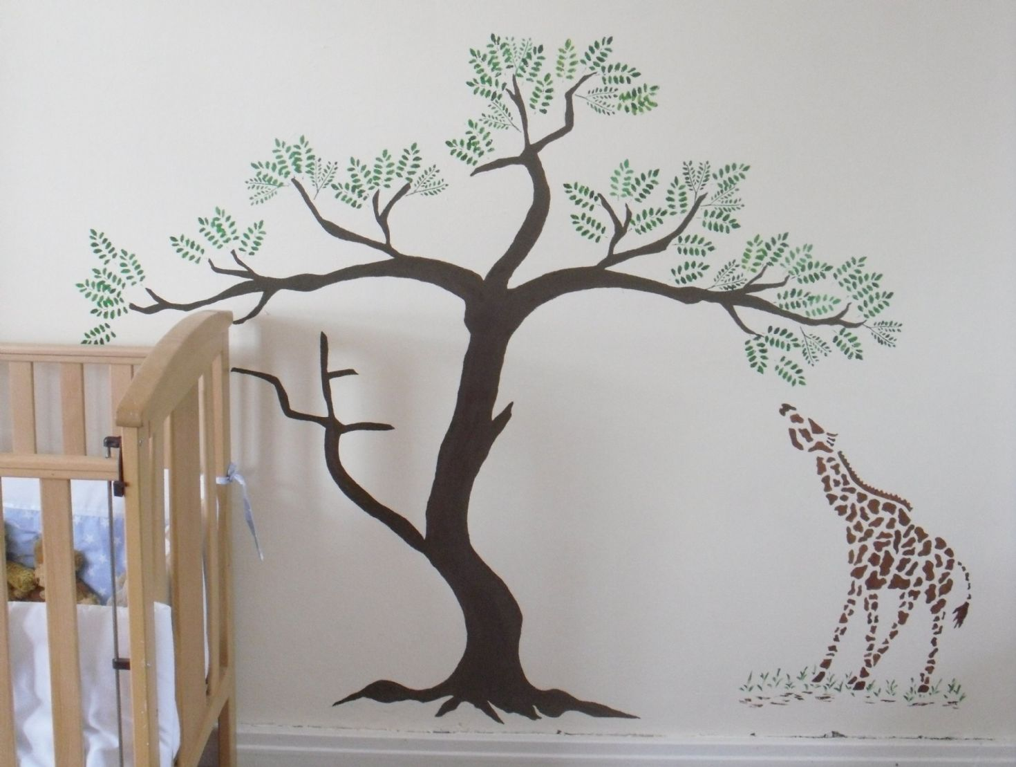 8 best images of printable tree stencils for walls free for Large tree template for wall