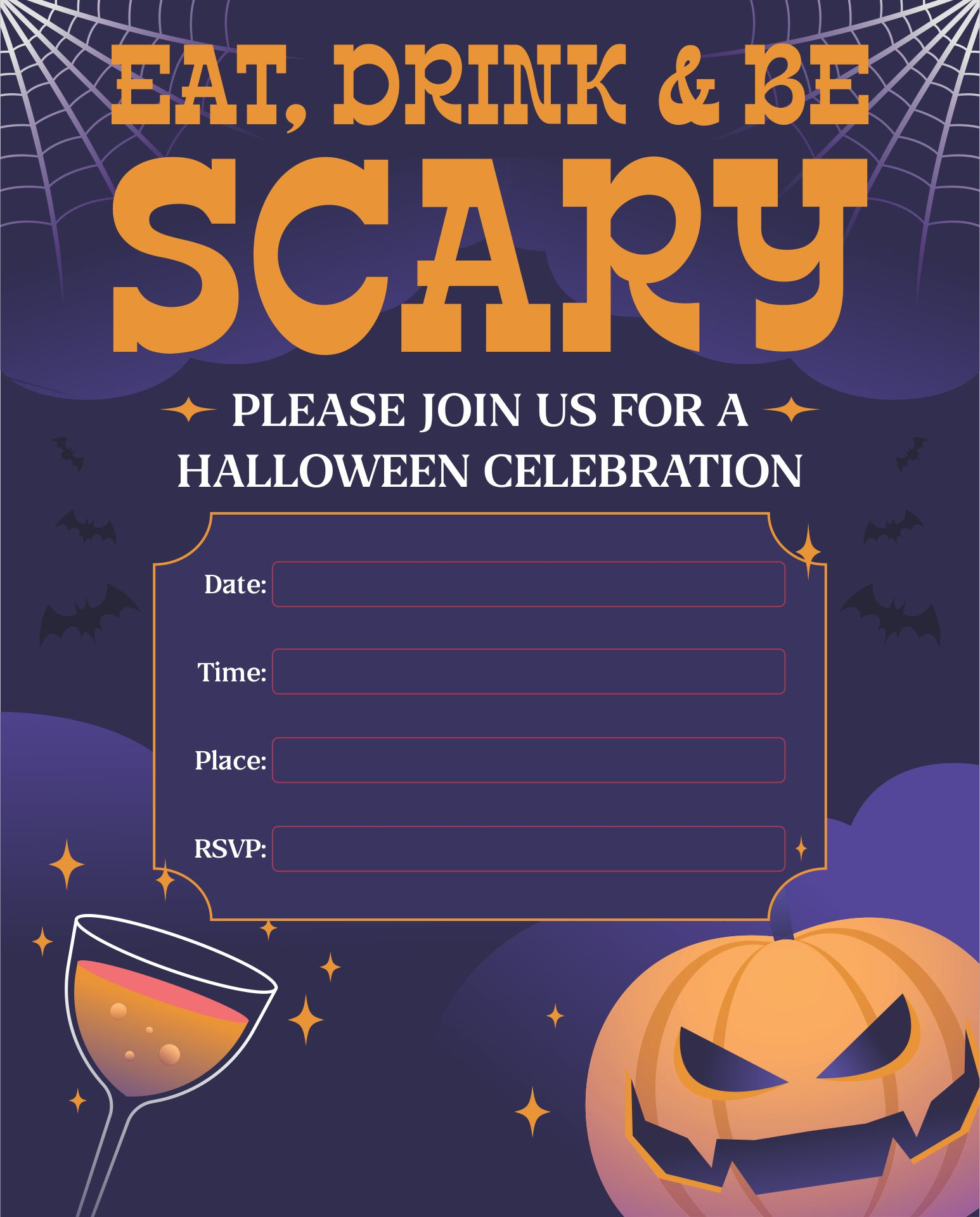 Cool Halloween Party Invitations was adorable invitation ideas