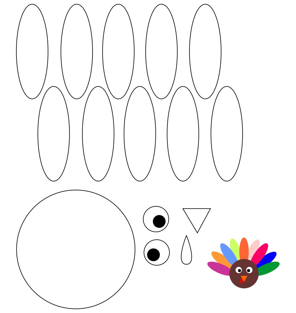 Thanksgiving Turkey Crafts and Printables