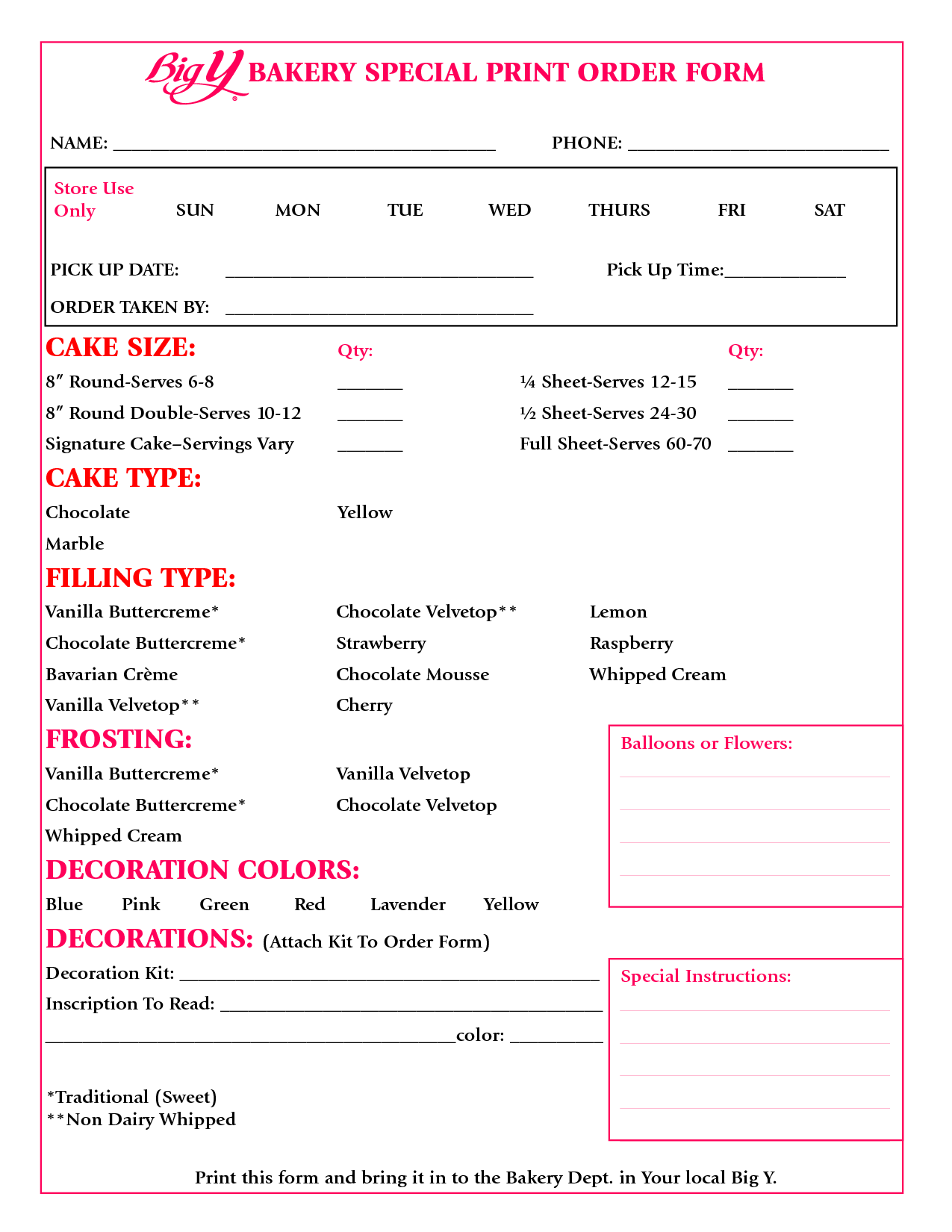 wedding cake order form template 8 best images of sheet cake templates printable cake 23353