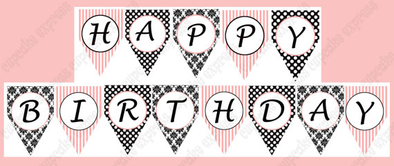 7 Best Images of Paris Party Birthday Banner Free ...