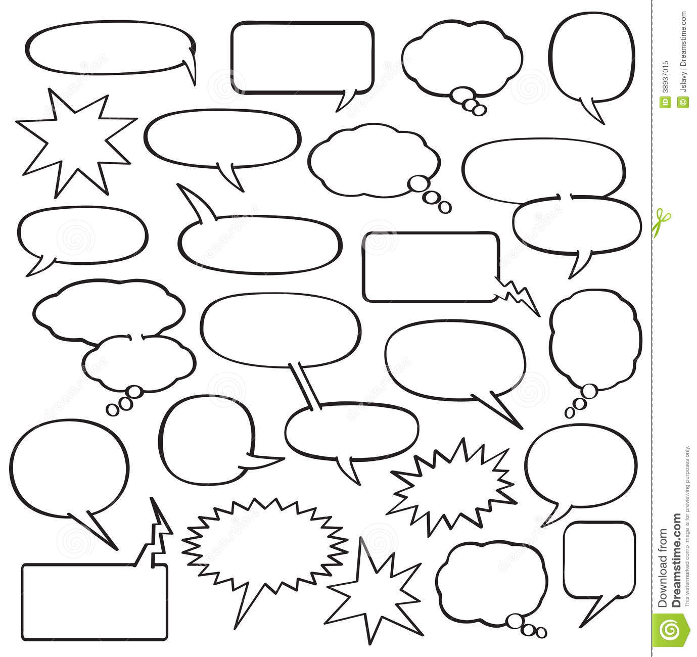 ... Bubble Template, Comic Strip Template for Kids & Comic Strips