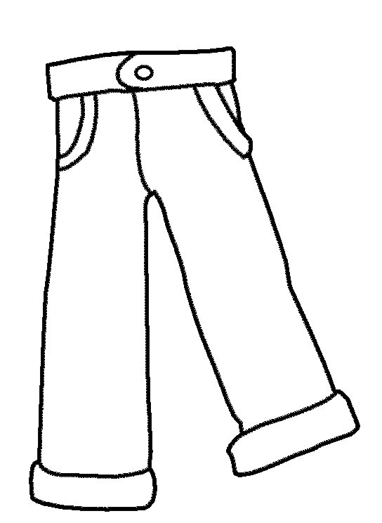 5 Best Images Of Clothes Coloring Pages Printable Free