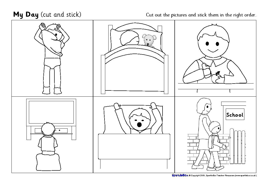 Sequence Worksheets For Kids Templates and Worksheets – Picture Story Sequencing Worksheets Kindergarten