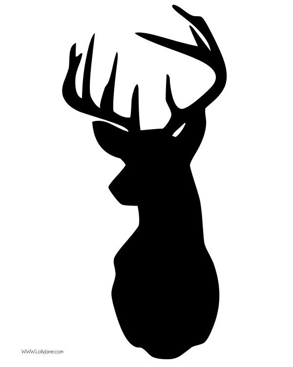 4 Images of Deer Clip Art Printable