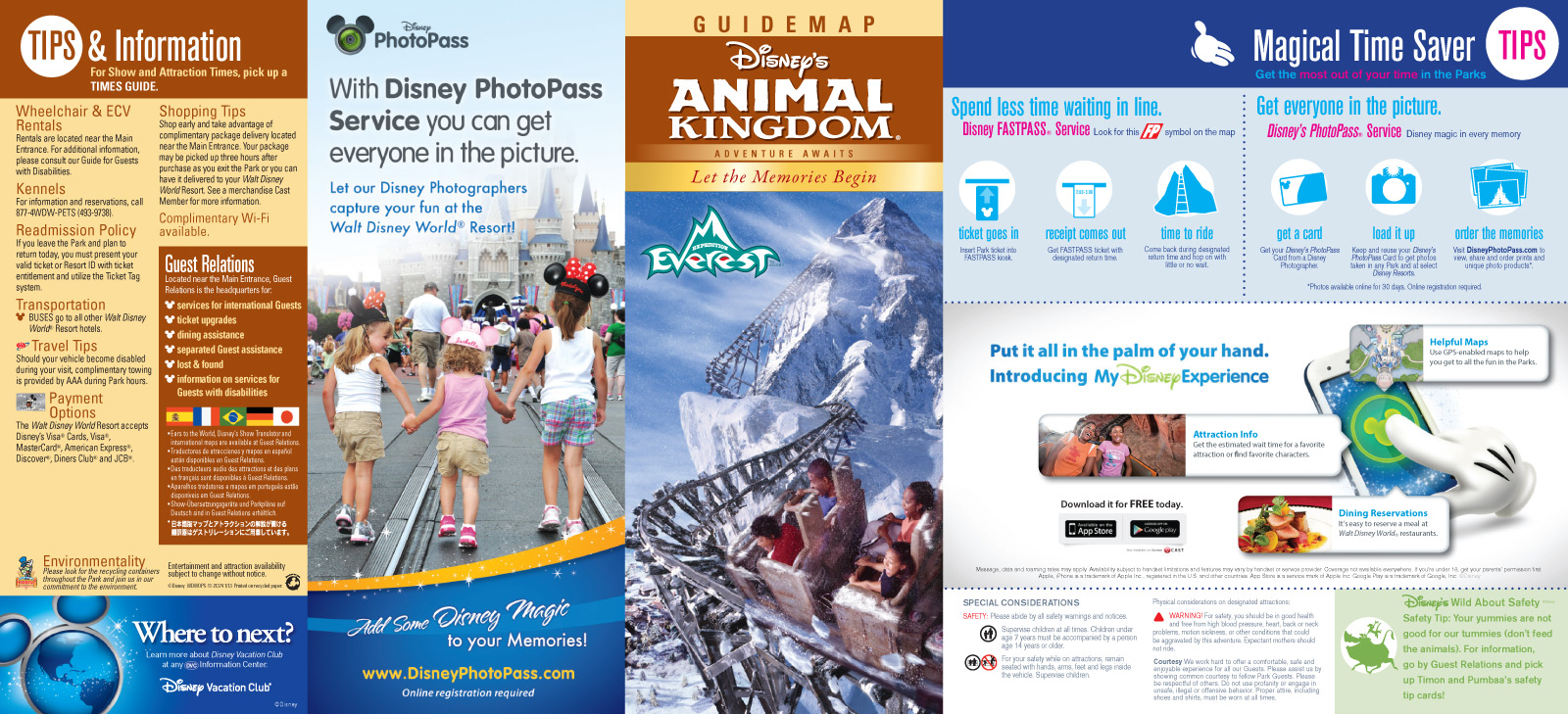 5 Images of Disney World Brochures Printable