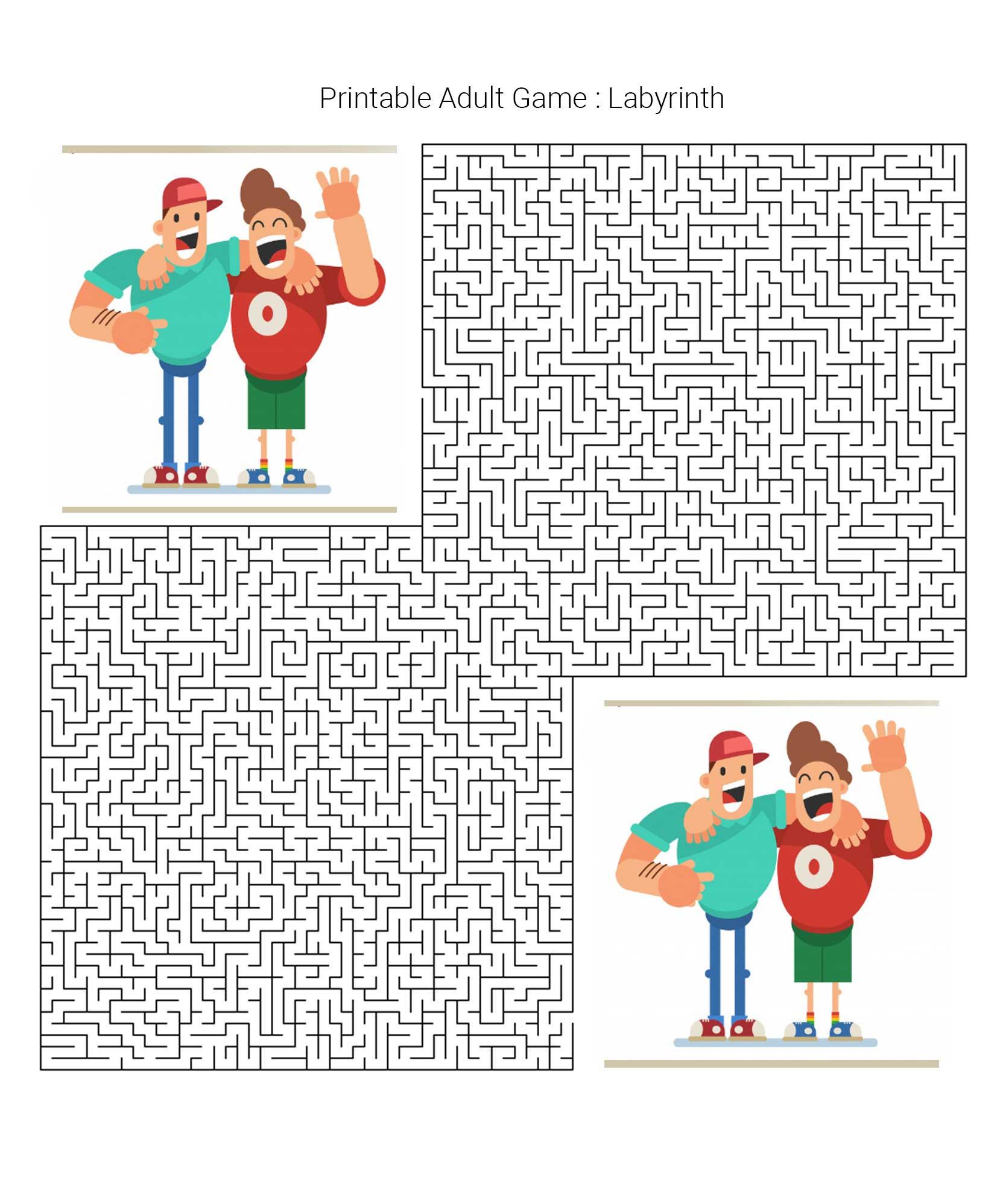 Printable Adult Games