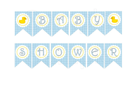 Free Printable Baby Shower Banners