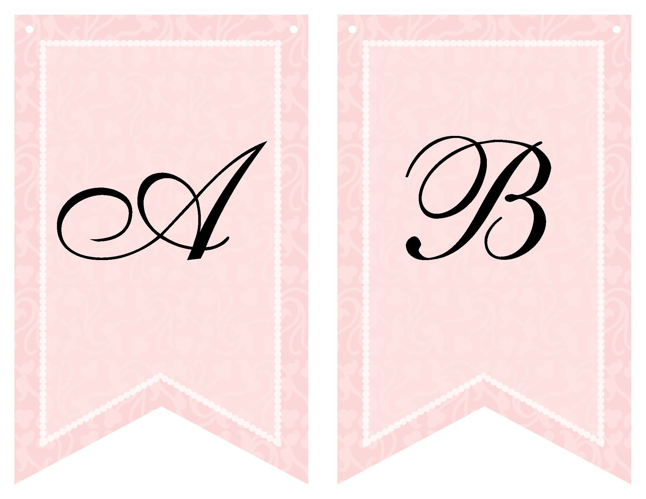 5 Images of Printable Baby Shower Banner