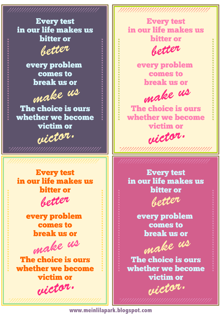 5 Images of Free Printable Motivational Cards