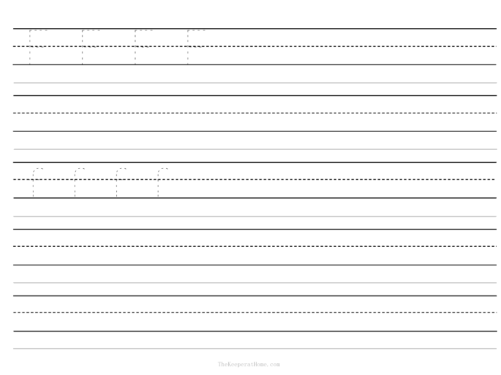 Writing Worksheet, Free Printable Kindergarten Writing Paper and Blank ...