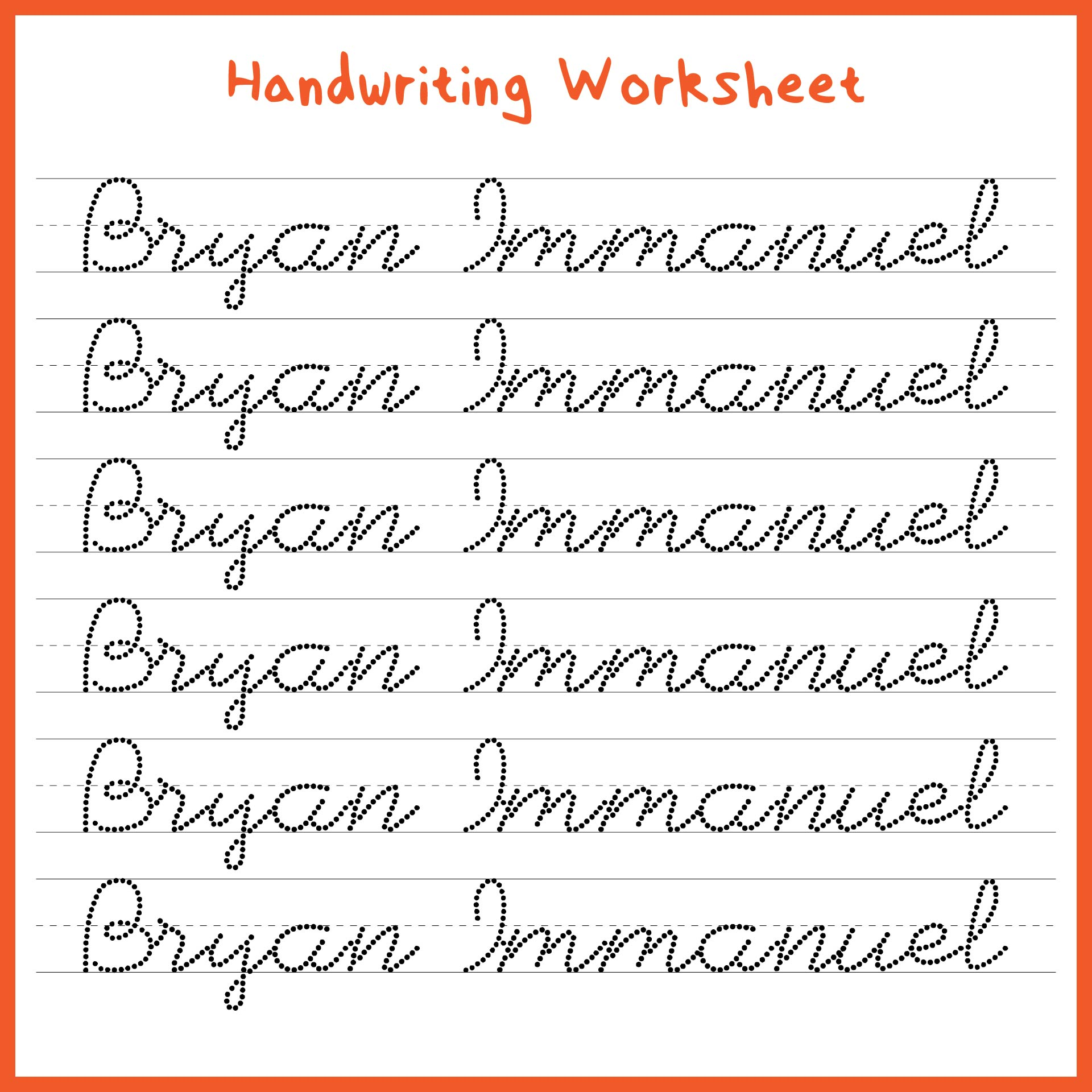 Printables Kindergarten Handwriting Worksheets Free Printable handwriting worksheets kindergarten 1000 images about 7 best of printable worksheets