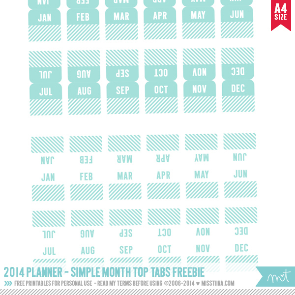 8 Images of Printable Month Tabs Binder