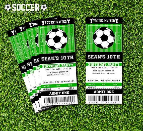 7 Best Images of Soccer Ticket Invitations Templates Free ...