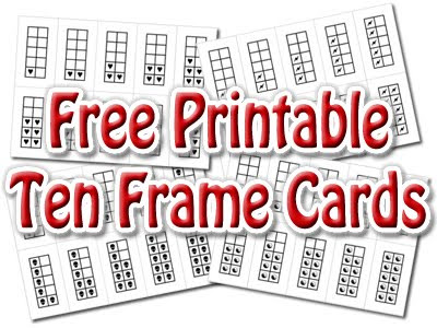 Number Names Worksheets » Ten Frame Worksheet - Free Printable ...