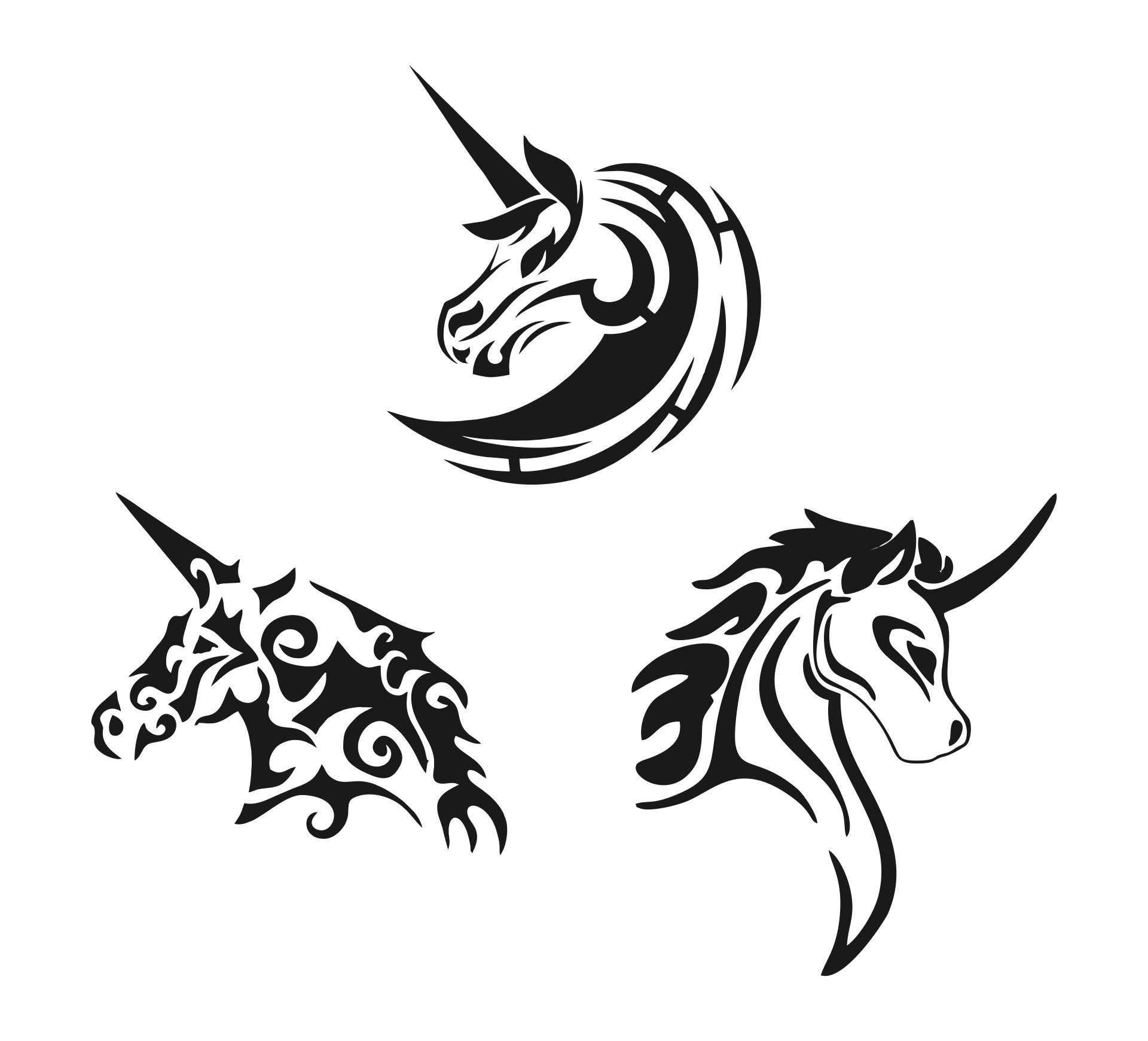 Best images of unicorn stencils free printable