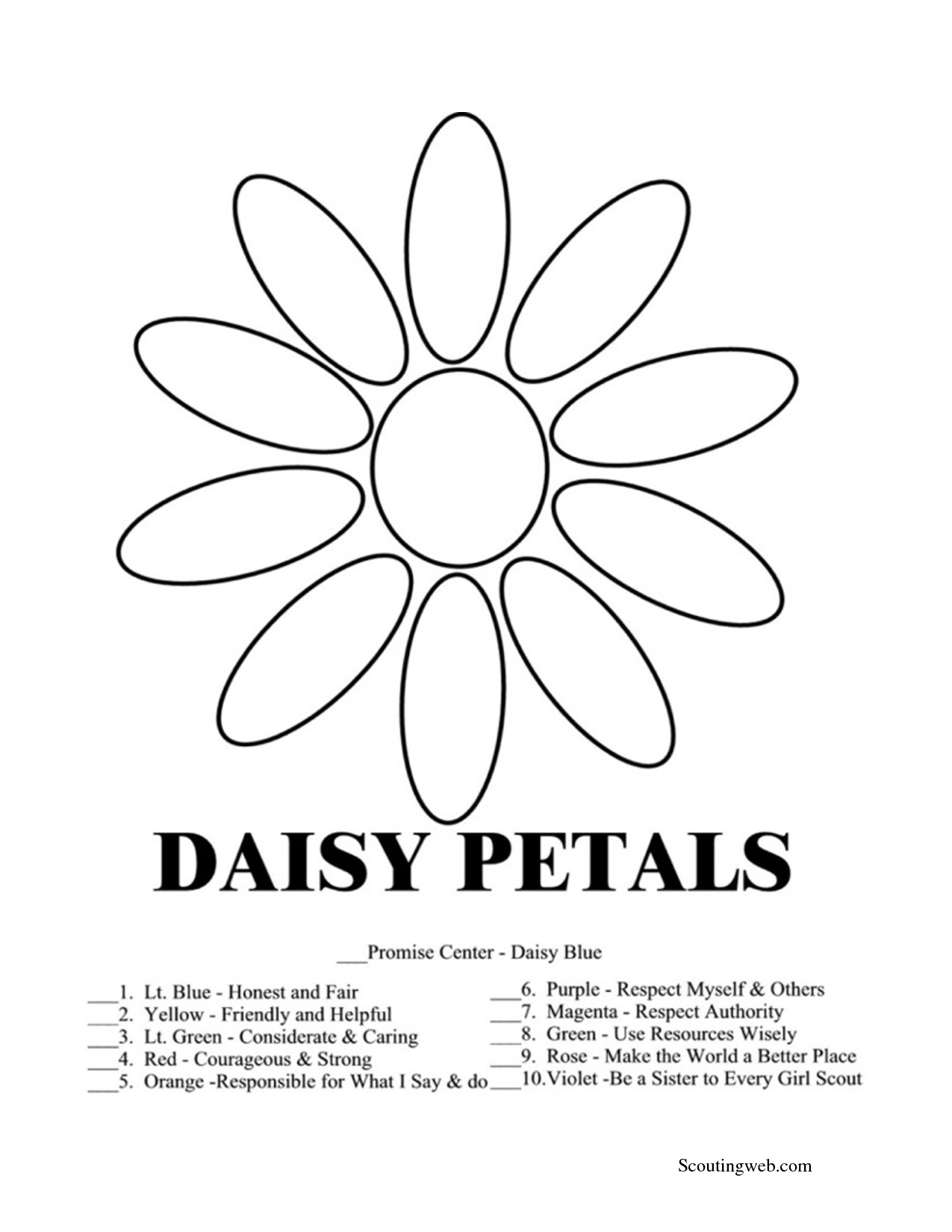 7 Images of Daisy Coloring Pages Printable