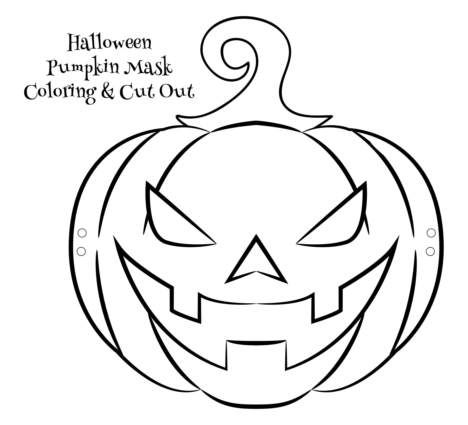6 Images of Kindergarten Crafts Halloween Printable Masks