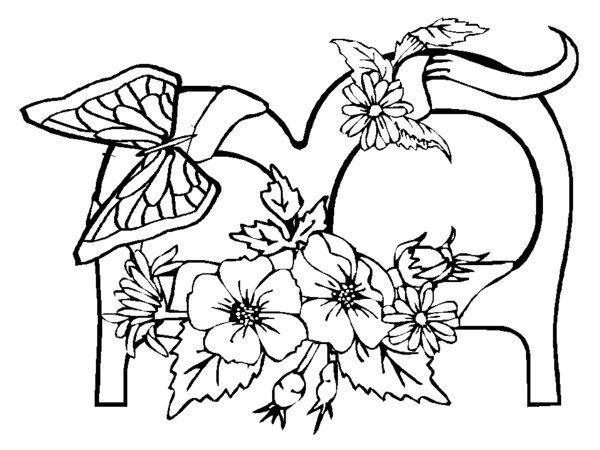 7 Best Images Of Printable Adult Coloring Pages B