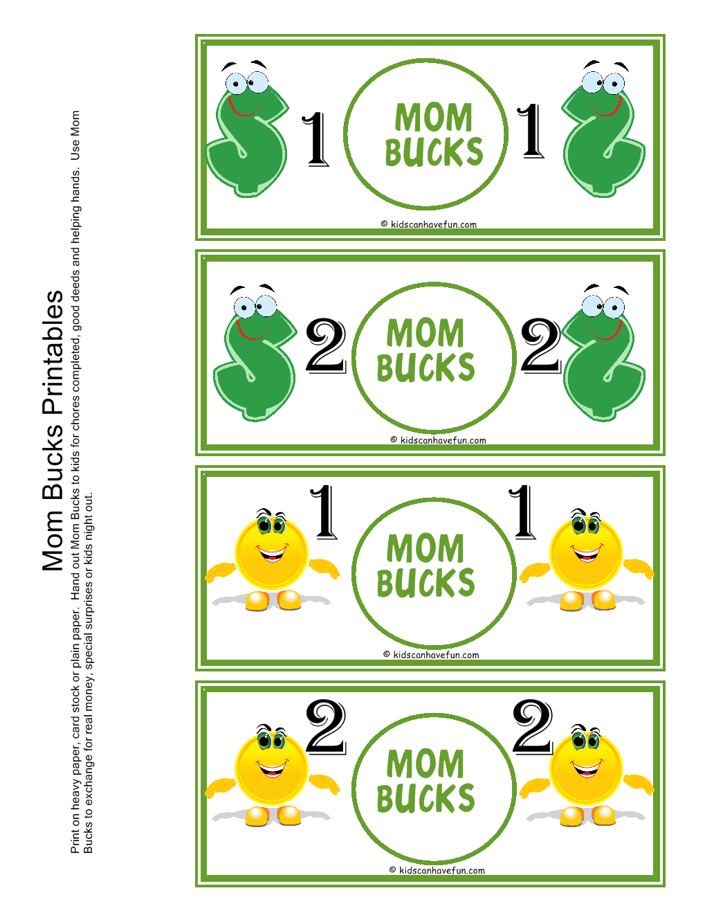 8 Images of Mom And Dad Printables