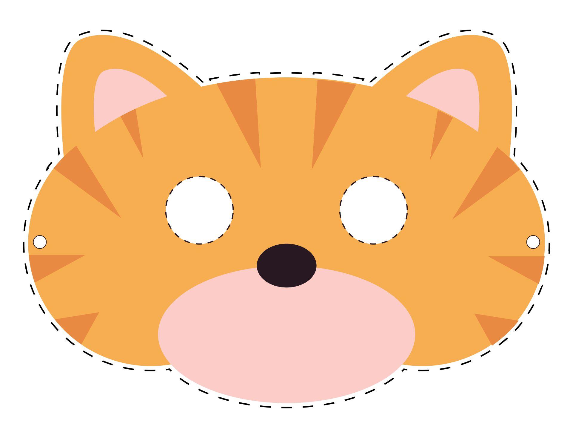 Preschool Animal Mask Crafts