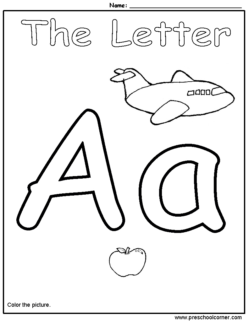 math worksheet : 7 best images of free preschool alphabet printables  printable  : Free Alphabet Worksheets For Kindergarten