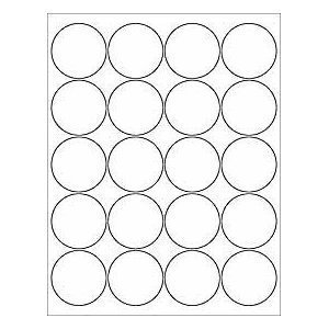8 Images of Printable Circle Stickers