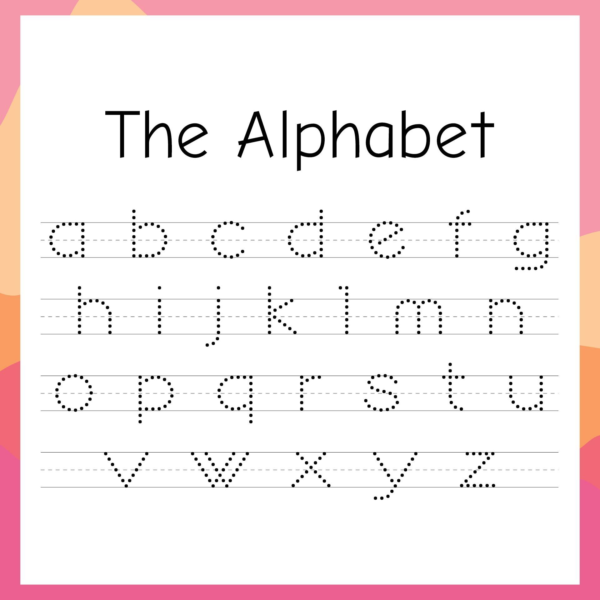 7 Best Images of Handwriting Printable Kindergarten ...