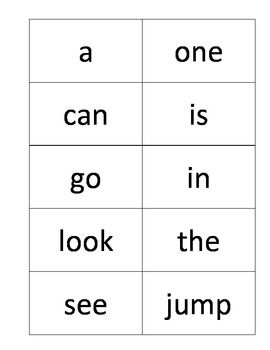 8 Images of Sight Words Flash Cards Printables