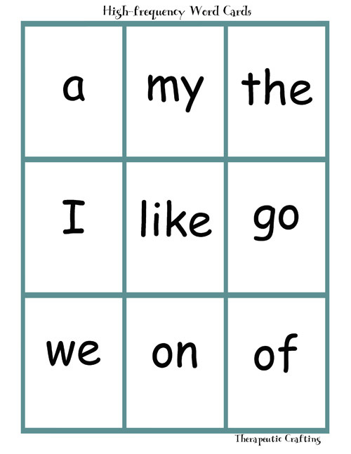 Printables Kindergarten Sight Words Printables Flash Card To Print sight words printable flash cards scalien scalien