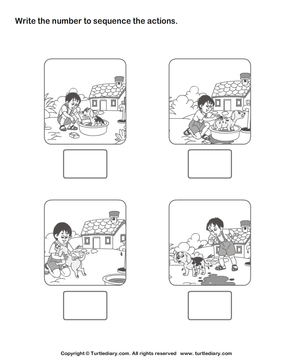 8 Best Images of Free Sequencing Printable Preschool Worksheets ...