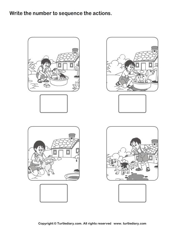 Number Names Worksheets free printable sequencing worksheets : 8 Best Images of Free Sequencing Printable Preschool Worksheets ...