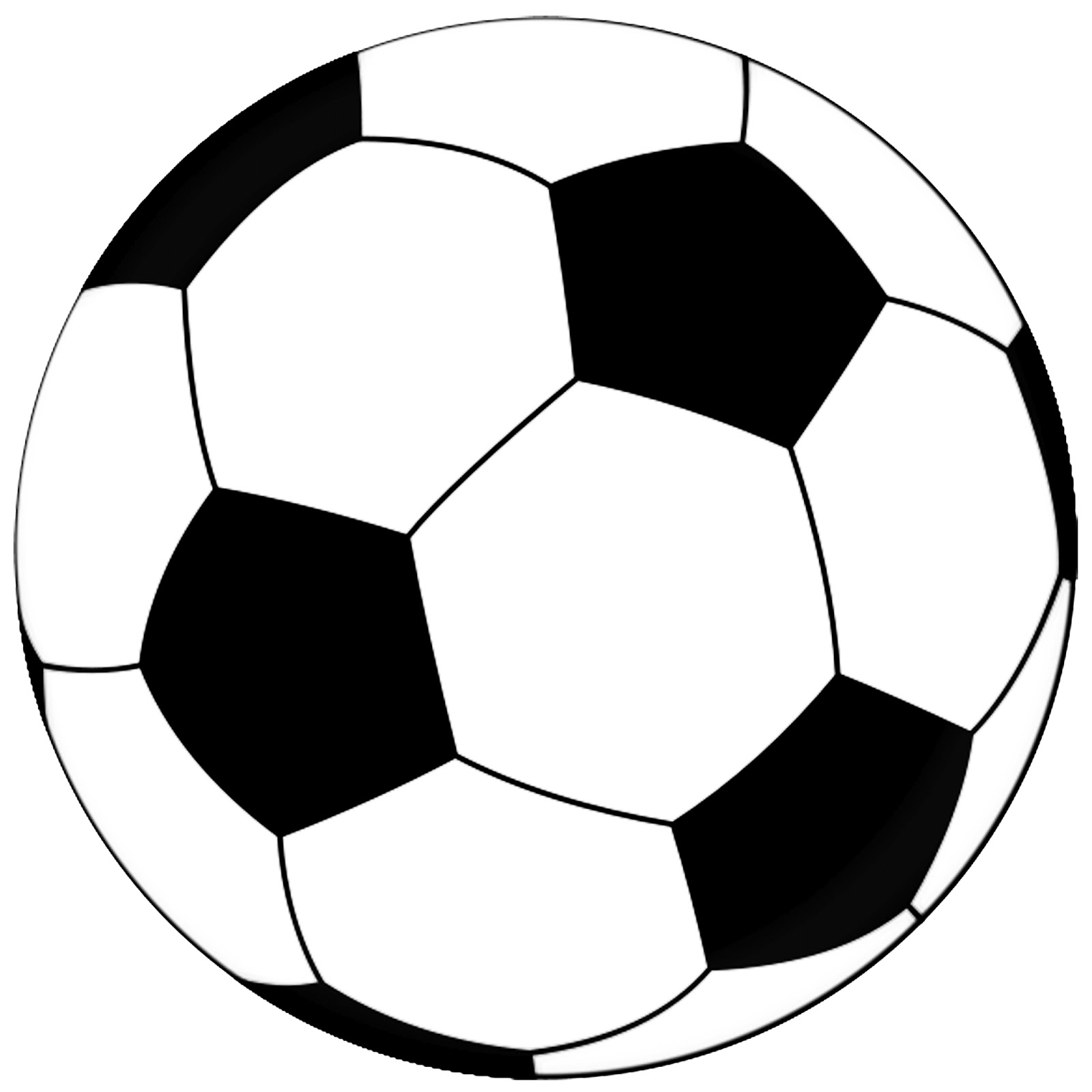 5 Images of Soccer Ball Template Printable