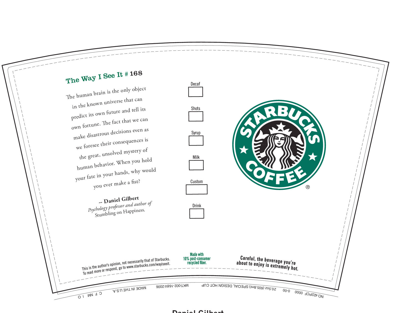 6 best images of printable starbucks coffee cups for Starbucks create your own tumbler blank template