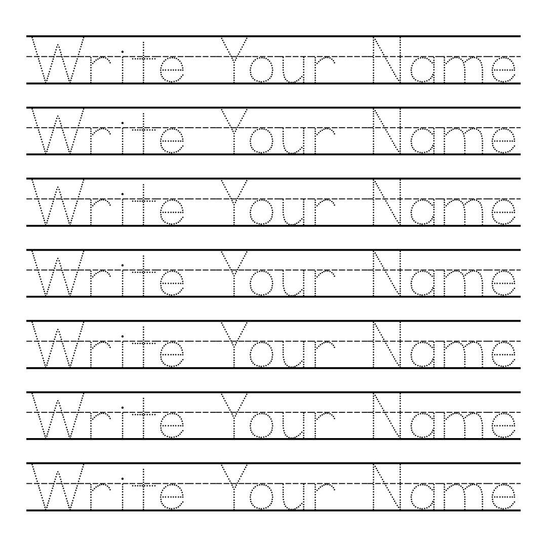 Write Your Name Worksheets For Kindergarten Worksheet Kids – Learning to Write Worksheets for Kindergarten