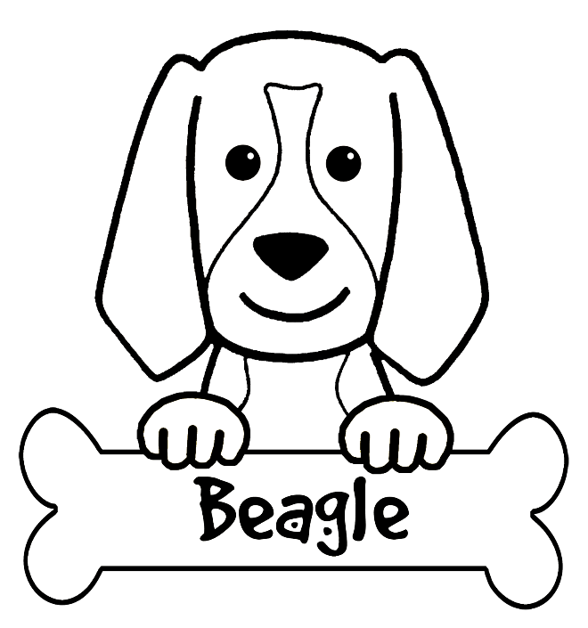 4 Best Images Of Beagle Sheets Printable