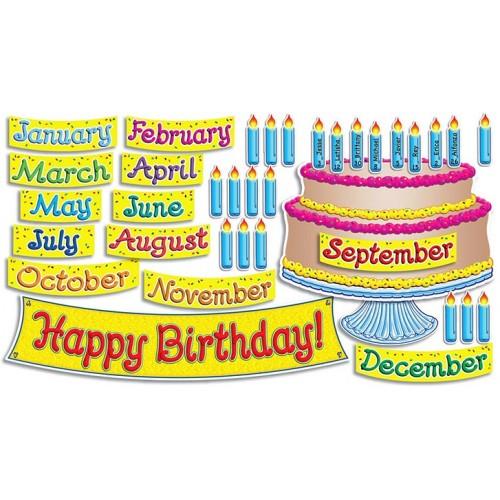 Birthday Cake Bulletin Board Printables