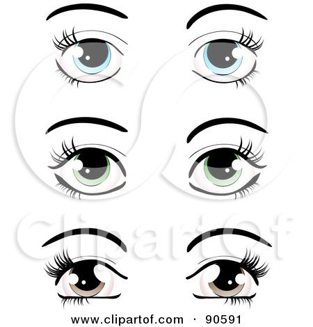 9 Images of Free Printable Cartoon Brown Eyes