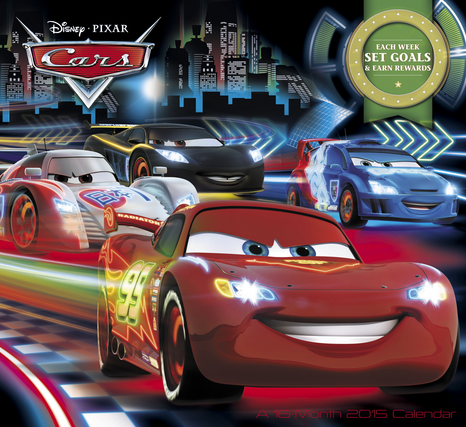 7 Images of Disney Cars Printable Calendar